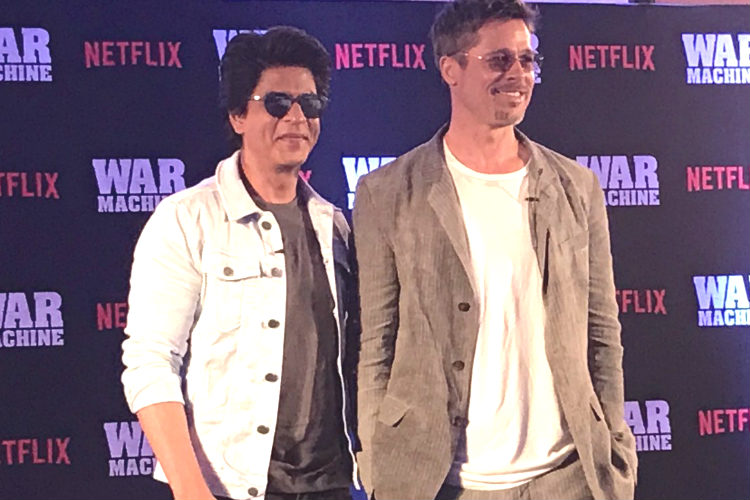 These 6 photos of Shah Rukh Khan and Brad Pitt bromancing each other need your attention right now