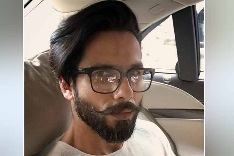 Shahid Kapoor personal photo