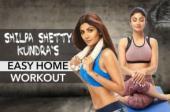 Shilpa Shetty home workout regime