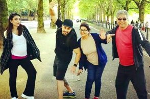 Soha Ali Khan vacationing in London with hubby Kunal Kemmu