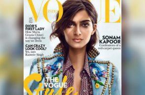Sonam Kapoor for Vogue India cover