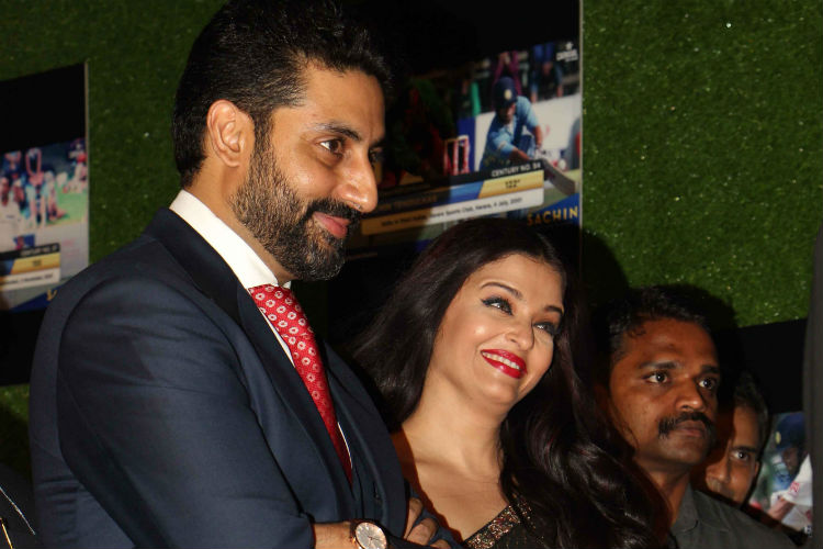 Abhishek and Aishwarya, Sachin: A Billion Dreams
