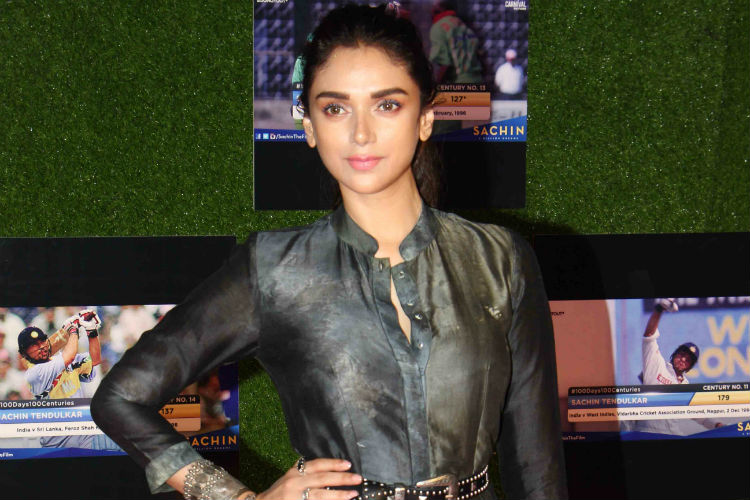 Aditi Rao Hydari, Sachin: A Billion Dreams screening