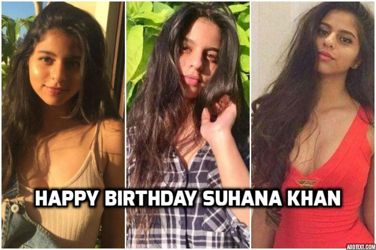 Happy Birthday Suhana Khan These 11 Pictures Of The Star