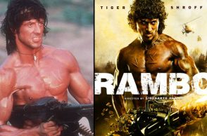 Tiger Shroff and Sylverster Stallone