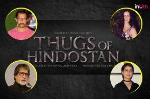 Thugs Of Hindostan logo, Aamir Khan, Amitabh Bachchan, Katrina Kaif