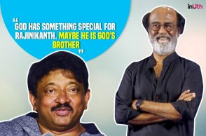 Ram Gopal Varma, Rajinikanth IANS photo for InUth.com