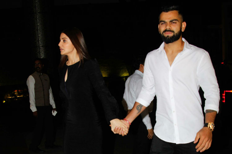 Virat Kohli and Anushka Sharma, Zaheer Khan and Sagarika Ghatge's engagement Mumbai