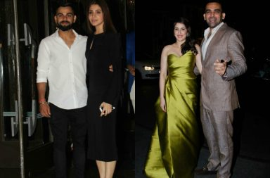 Virat Kohli and Anushka Sharma enter hand-in-hand at Zaheer Khan and Sagarika Ghatge's engagement party