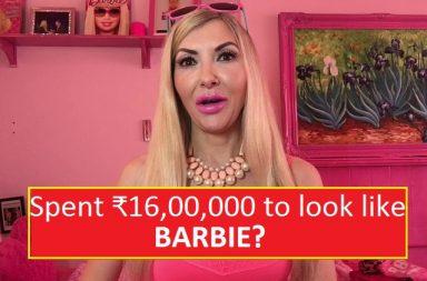 Rachel Evans spent 16 lakh to look like a Barbie