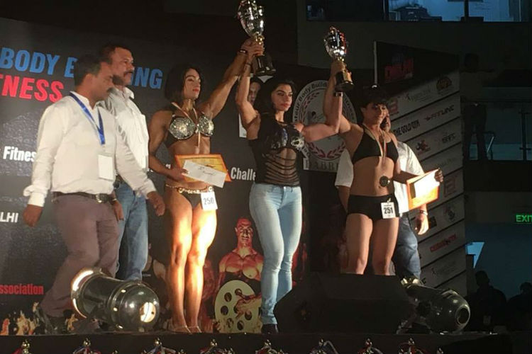 Bhumika Sharma, winner of Miss World title in Bodybuilding Championship