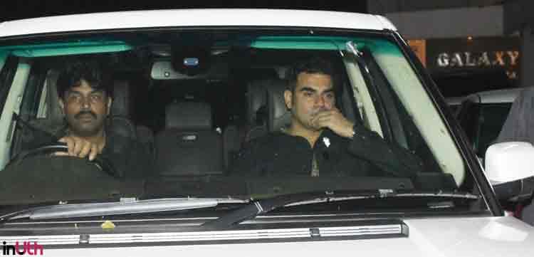 Arbaaz Khan at Salman Khan's Eid party