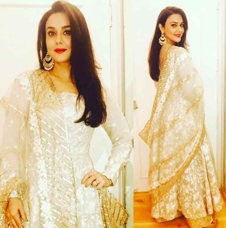Preity Zinta at Salman Khan's Eid party