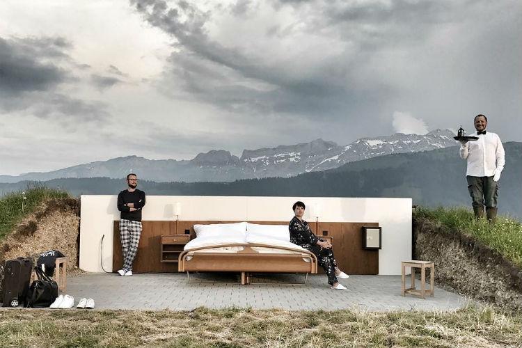 Null Stern Bed, Switzerland