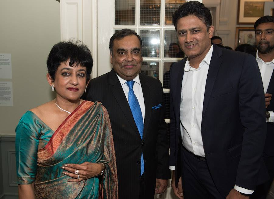 Team India attends dinner at Indian High Commission, UK