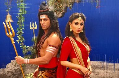 Karanvir Bohra and Mouni Roy, Naagin 2