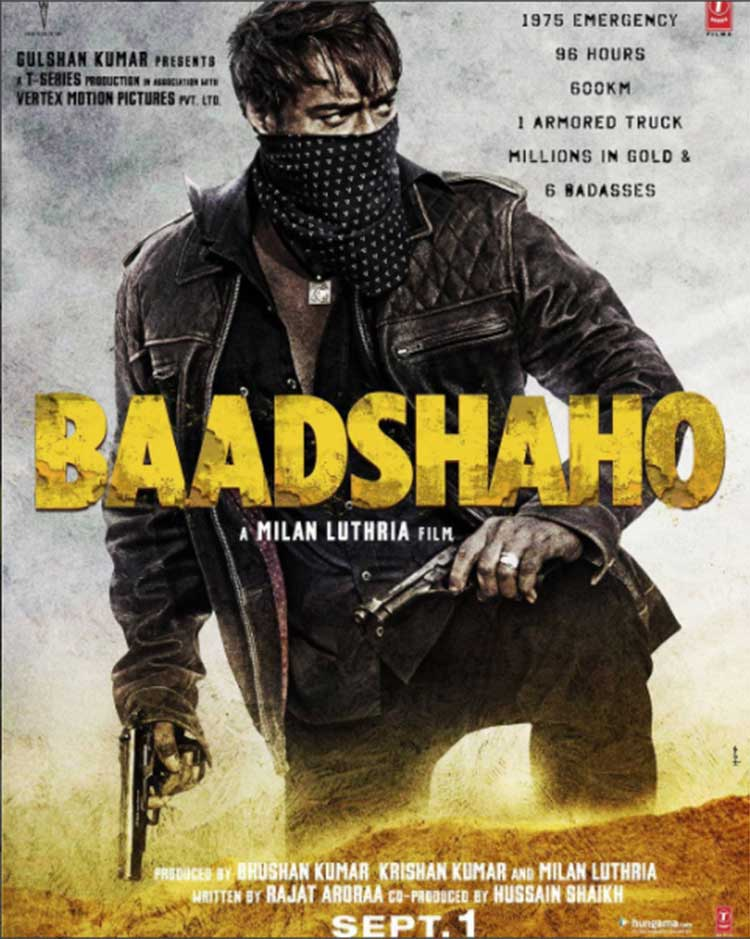 Ajay Devgn's first look from Baadshaho