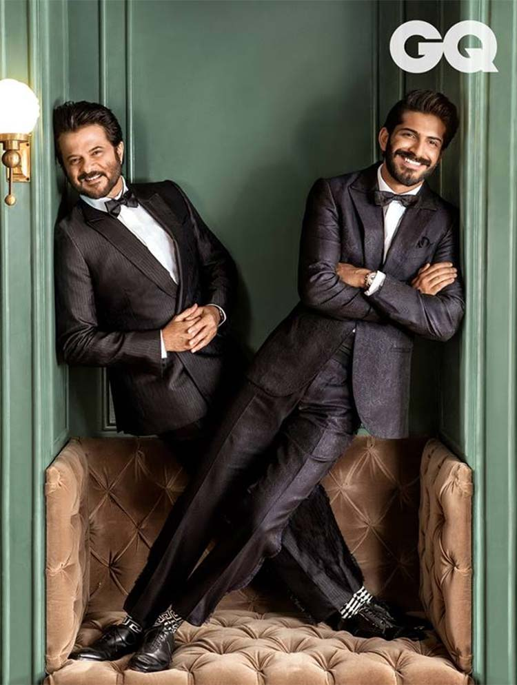 Anil Kapoor and Harshvardhan's smiles in this GQ shoot will melt your hearts