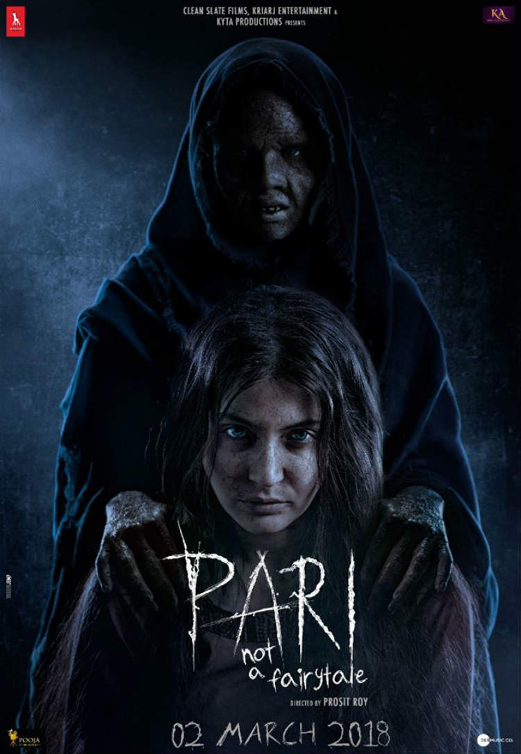 Anushka Sharma is giving us chills with this poster of Pari