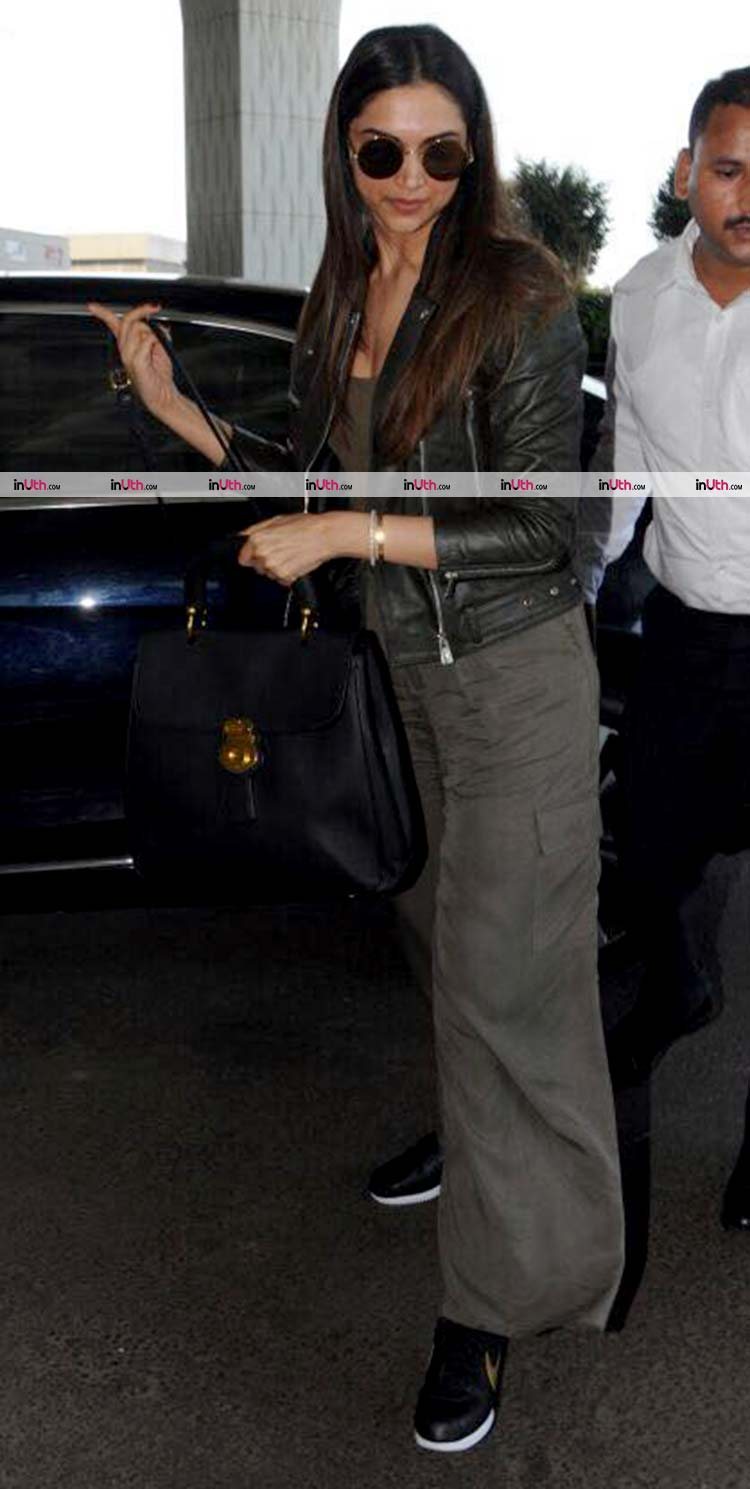 Deepika Padukone flaunts her chic style at the airport