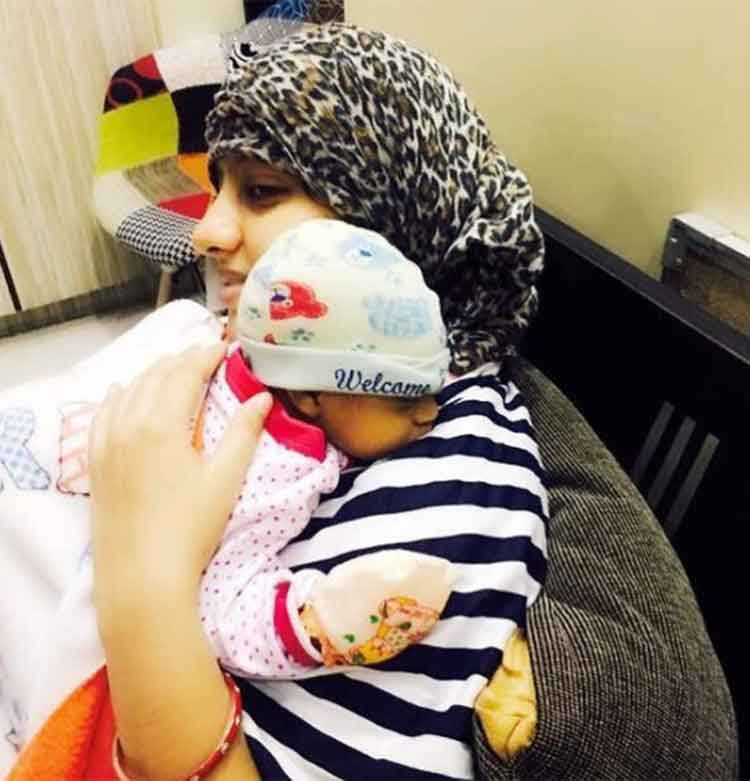 Deepika Singh's little son is cute like a button