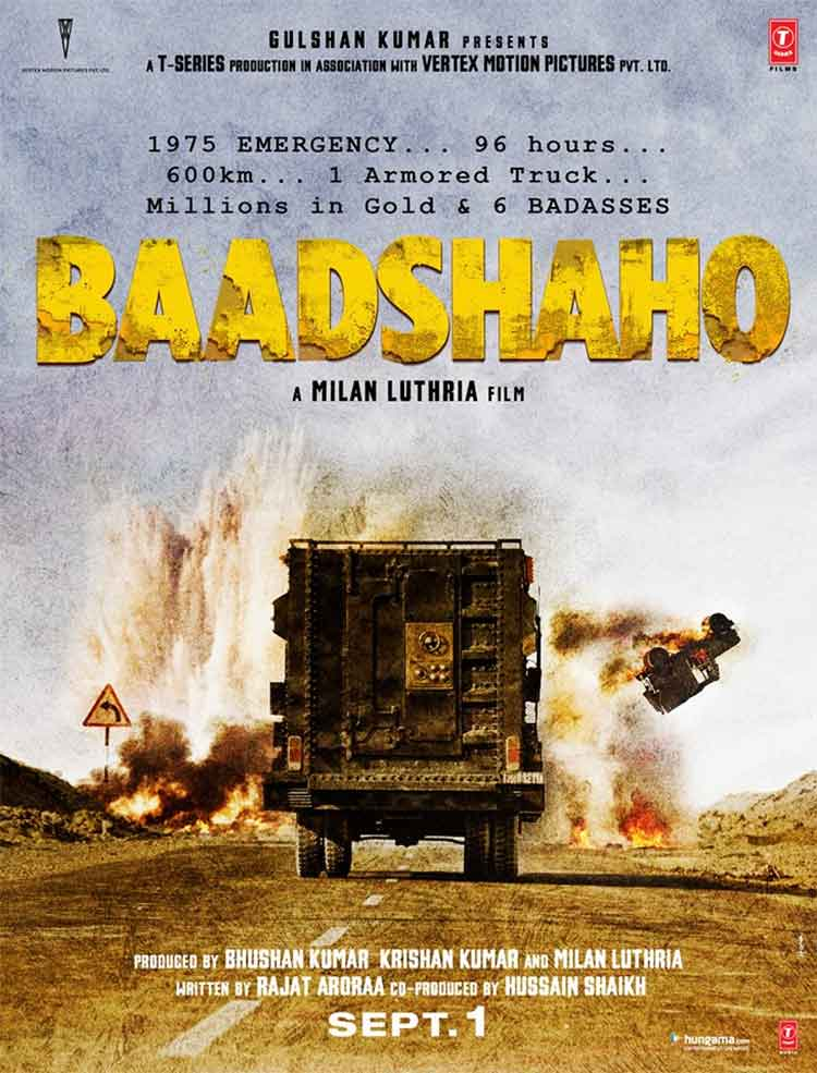 First look of Milan Luthria's Baadshaho is thrilling