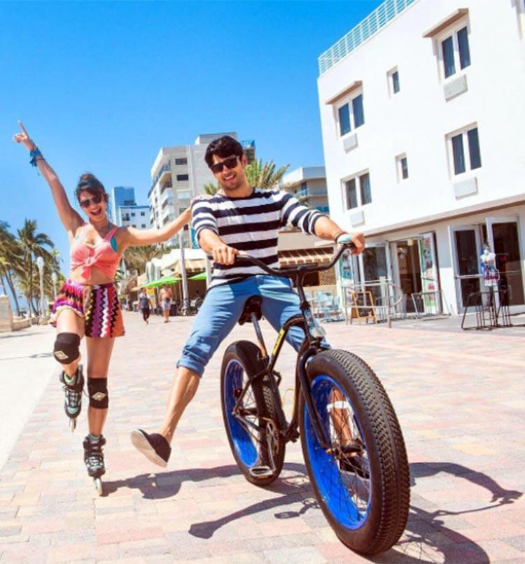 Jacqueline Fernandez and Sidharth Malhotra's fun side