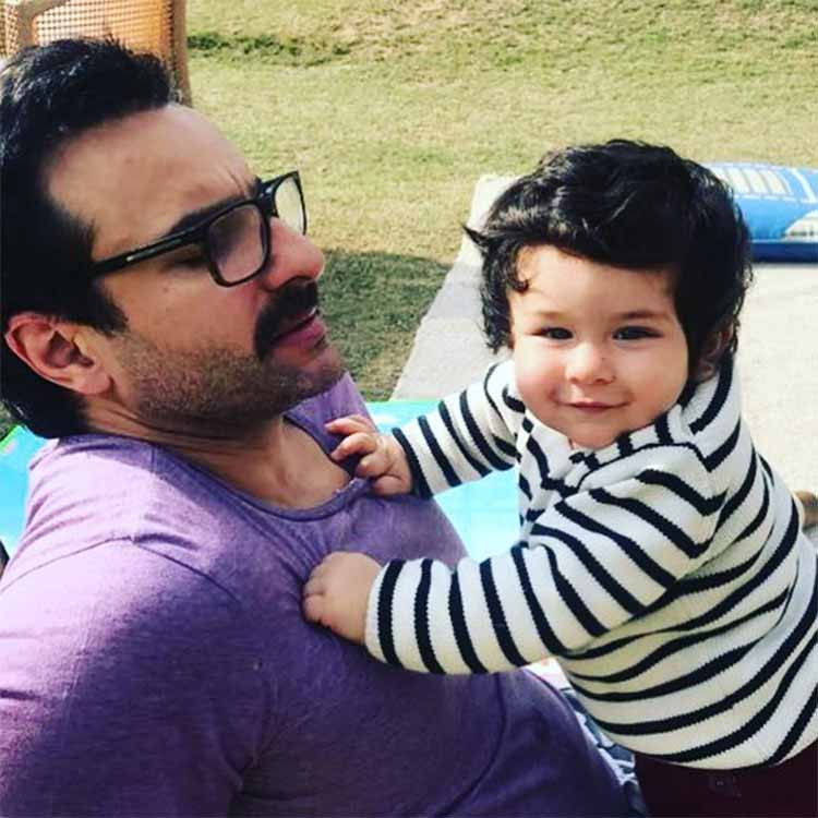 Karan Johar has posted the cutest pic of Taimur on the latter's birthday