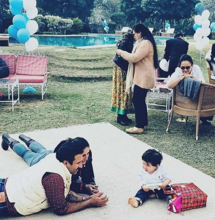 Kareena Kapoor and Saif Ali Khan doting over their son Taimur