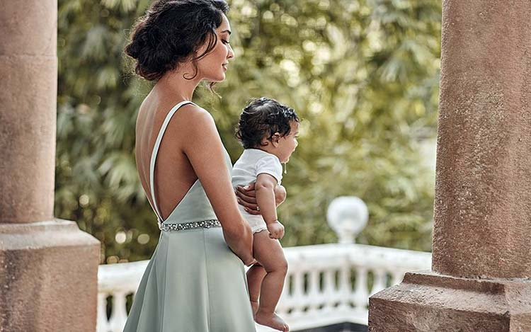 Lisa Haydon and son Zack Lalvani's photoshoot for a magazine