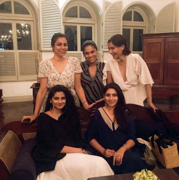 Rhea Kapoor shares the photo of her girl gang from Sri Lanka