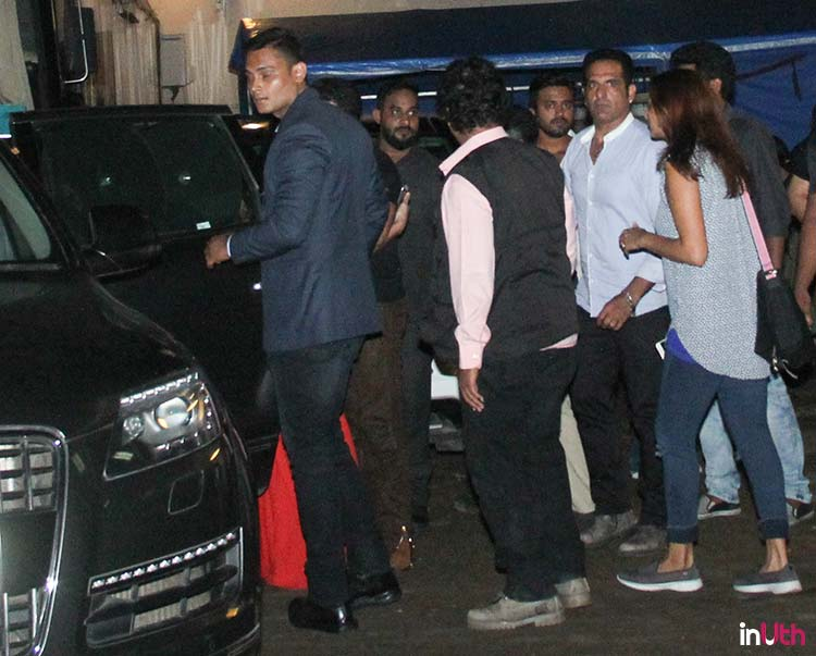 Salman Khan spotted with Katrina Kaif