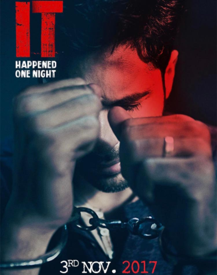 Sidharth Malhotra's first look from It Happened One Night