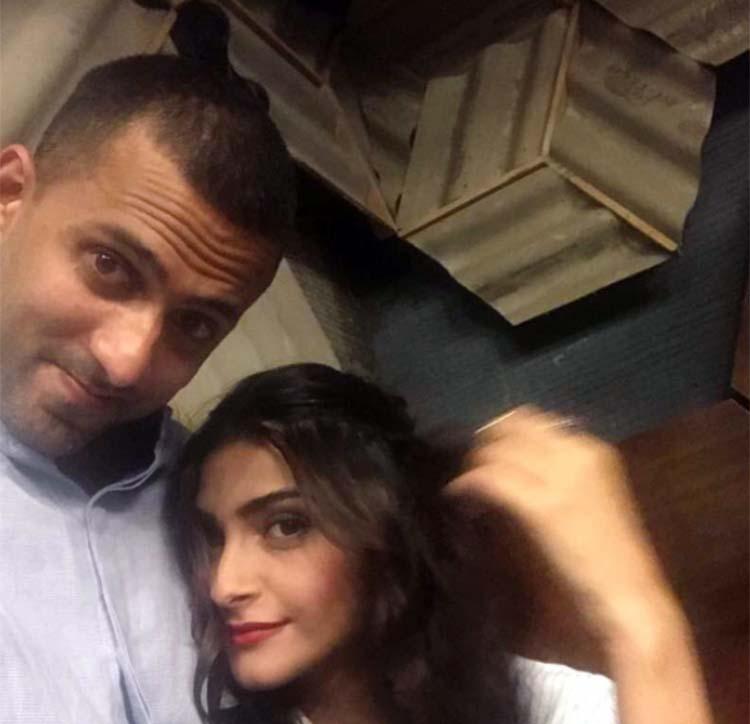 Sonam Kapoor with rumored boyfriend Anand Ahuja