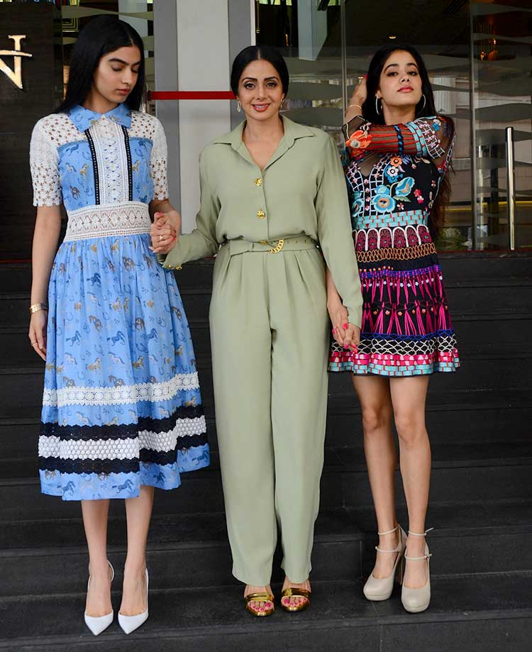 Sridevi launches the trailer of her upcoming movie Mom