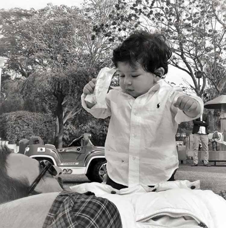 Taimur Ali Khan is just getting cuter by the day