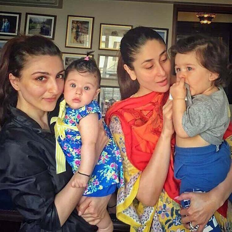 Taimur is no mood to pose for the cameras