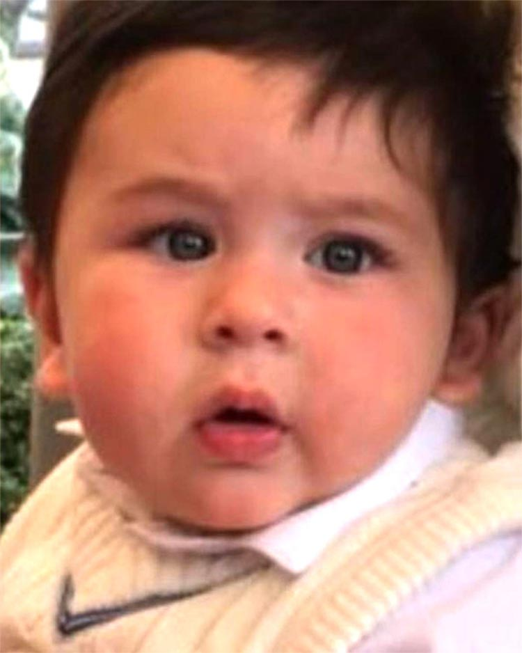 Taimur looks like a striking image of his grandfather in this latest pic