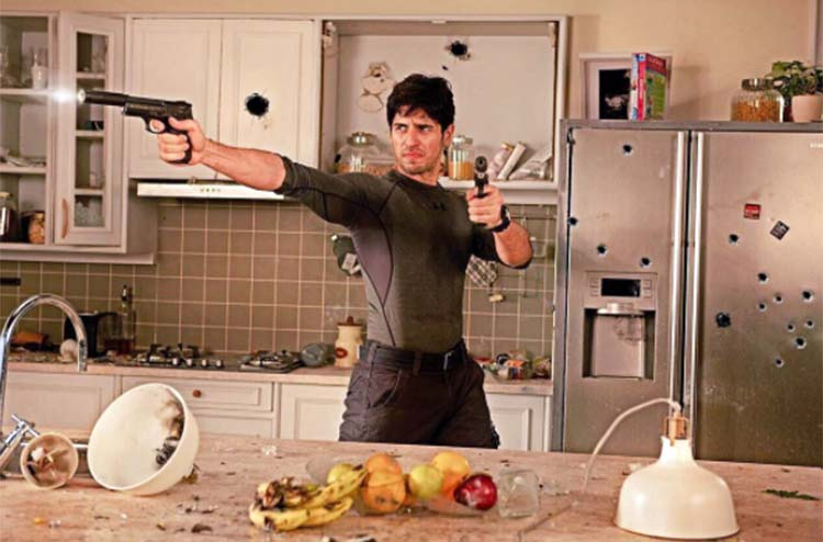 The first look of Sidharth Malhotra's risky side form A Gentleman