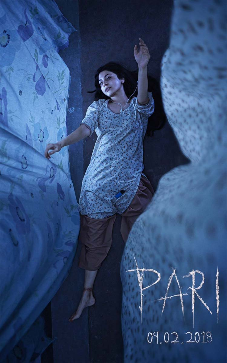 The first poster of Pari is going to leave you dumbstruck