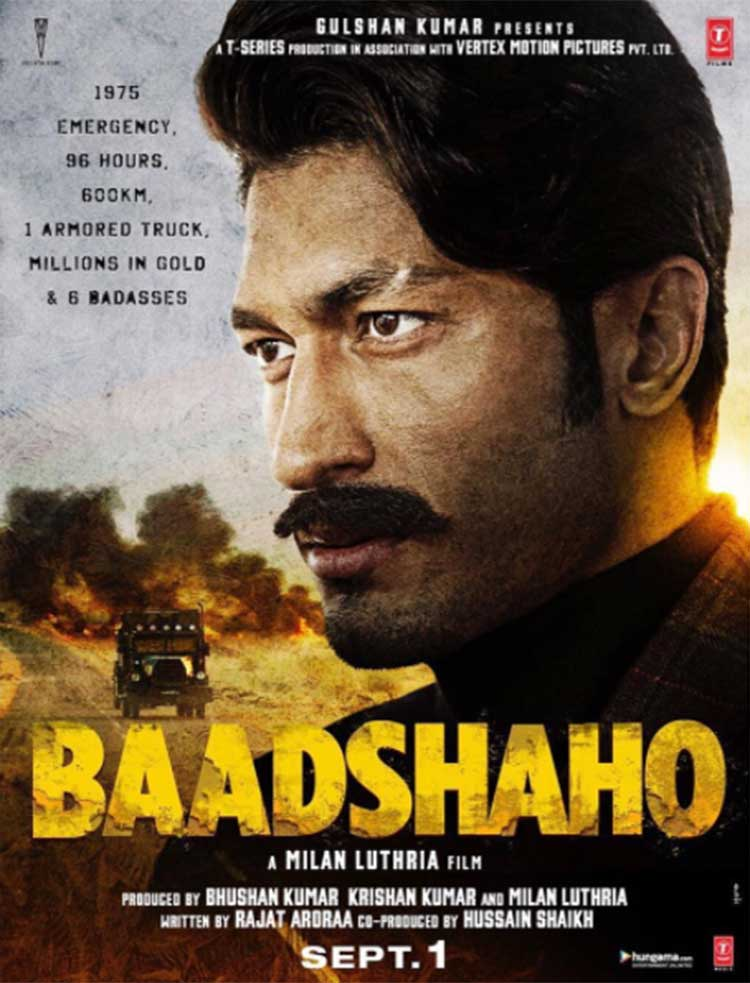 Vidyut Jammwal's first look from Baadshaho