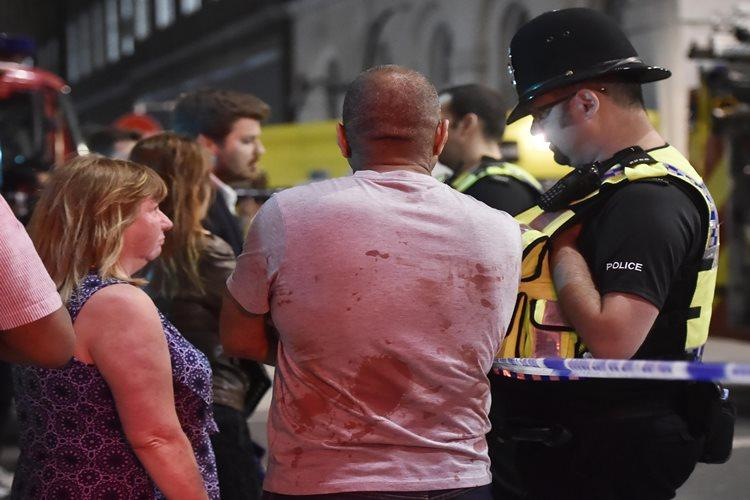 About 20 people were injured in the accident on London bridge