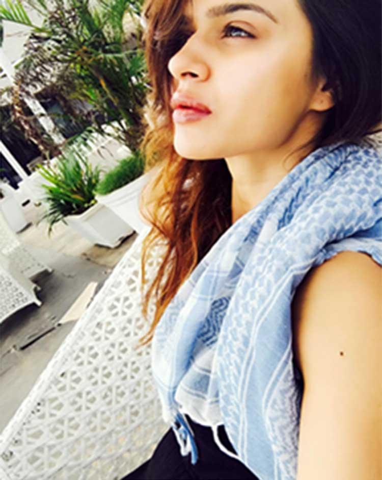 Aashka Goradias Sexy Selfie From The Beach In Goa  Aashka Goradia Is Unwinding With -3642