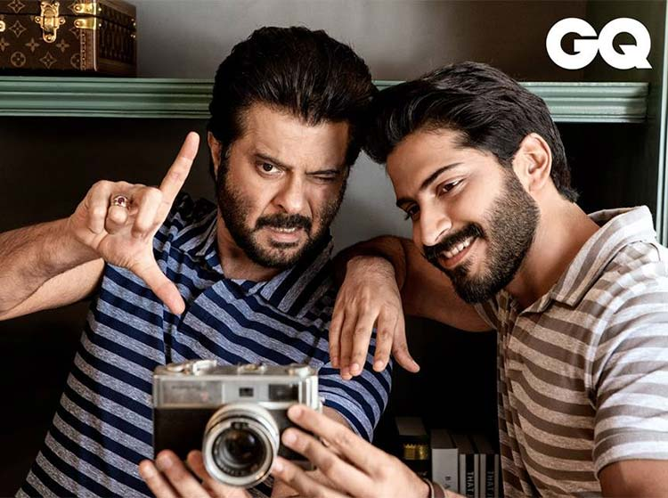 Anil and Harshvardhan Kapoor pose for GQ Magazine