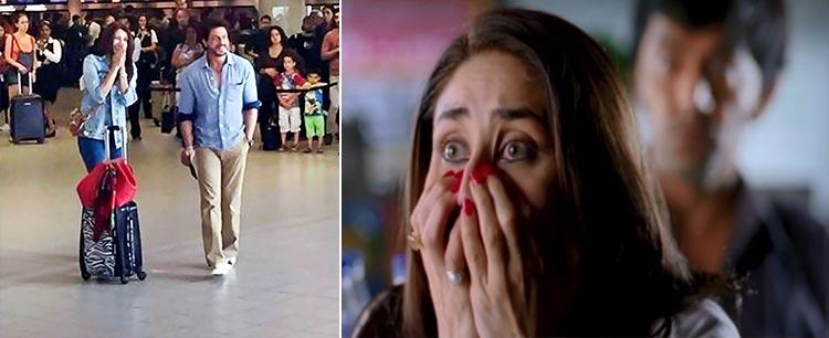 Anushka Sharma pulling off a Geet expression on Jab Harry met Sejal sets