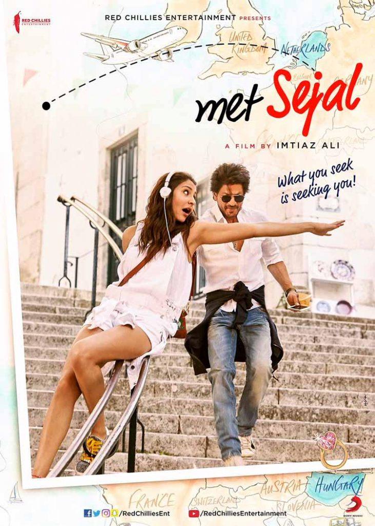 Anushka Sharma's first look on Jab Harry Met Sejal poster