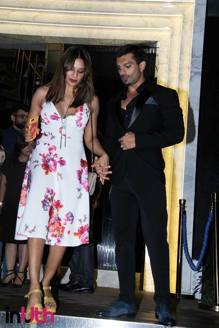 Bipasha Basu with her husband Karan Singh Grover