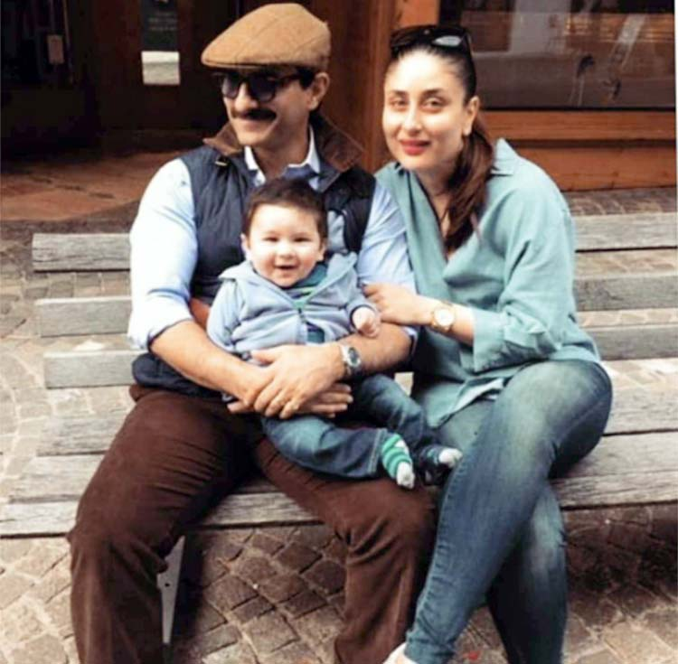 Cute Taimur is enjoying some family time in Switzerland