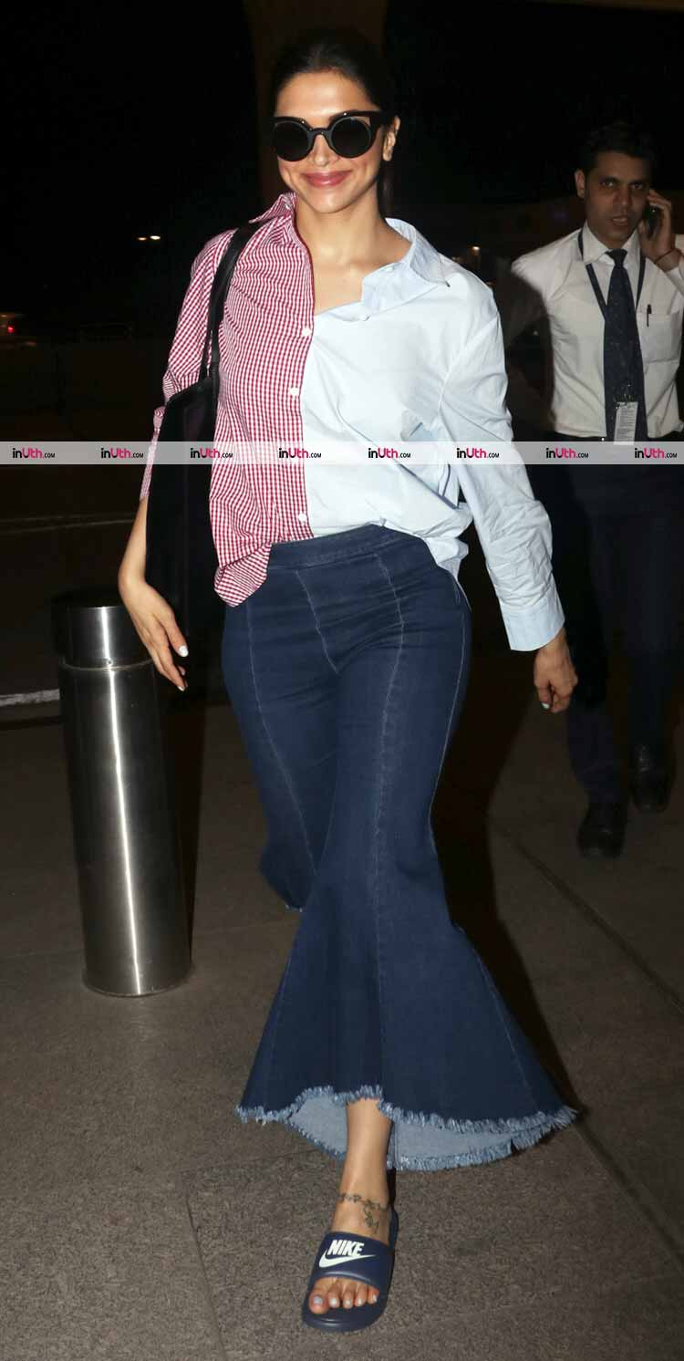 Deepika Padukone fails to impress with her airport look