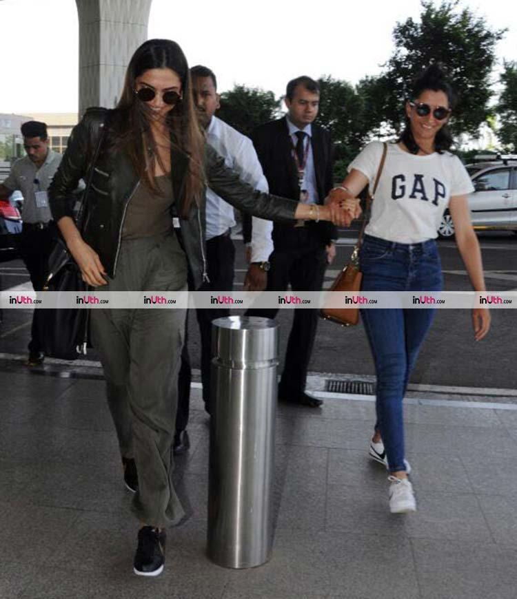 Deepika Padukone's another stylish airport look of 2017